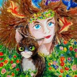Młodzi artyści i wystawa 'Jak kwiaty...'