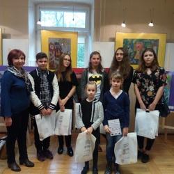 Ogromny sukces wychowanków MDK w VI. Ogólnopolskim Konkursie Plastycznym w Chełmie