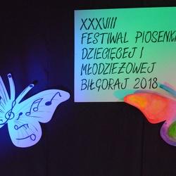 XXXVIII Powiatowy Festiwal Piosenki Dziecięcej i Młodzieżowej