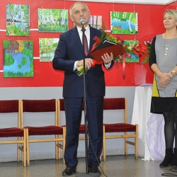 Wystawa Zielono mi... ' oraz Dzień Nauczyciela