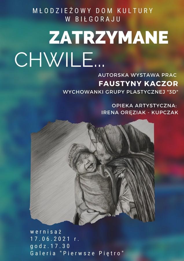 Wystawa autorska Faunstyny KACZOR
