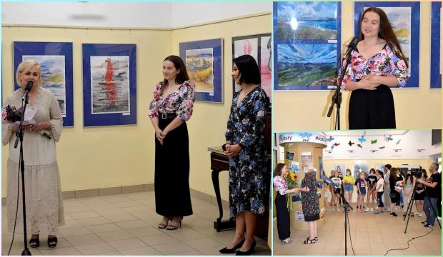 zdjęcia przedstawia jendo z wydarzeń - Wystawa Zatrzymane chwile... - Autorka - Faustyna Kaczor - Galeria I Piętro
